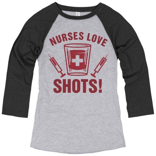 This Nurse Loves Shots