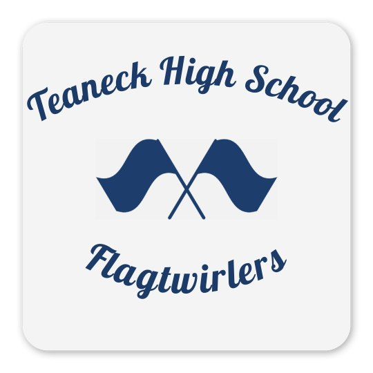 THS Flagtwirlers Magnet
