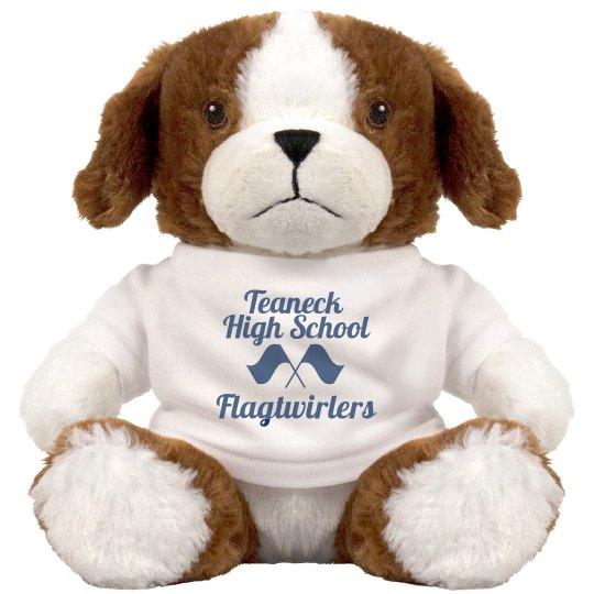 THS Flagtwirlers Stuffed Doggie