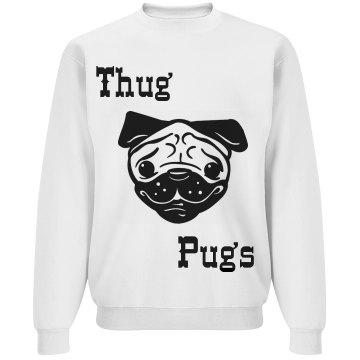 Thug Pugs Crewneck