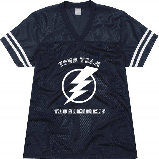 Thunderbirds Custom Football Jersey