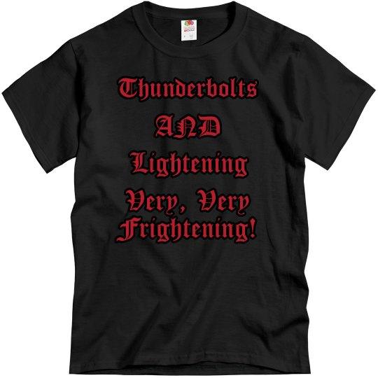 Thunderbolts...Tee