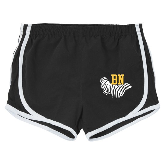 Tiger stripes (running shorts)