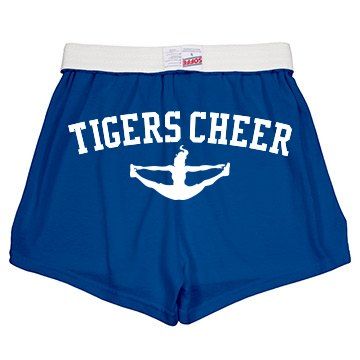 Tigers Cheer Shorts