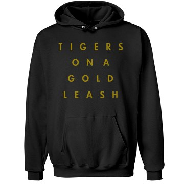Tigers on a Gold Leash