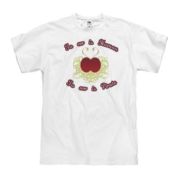 To Arr Is Pirate men's tee
