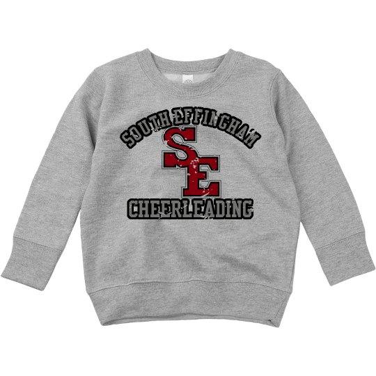 Toddler Cheer Sweatshirt