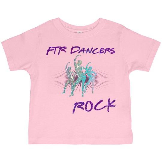 Toddler FTR DAncers Rock