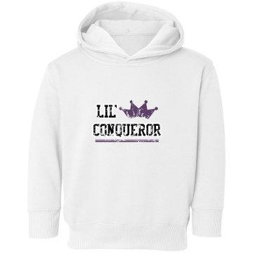 Toddler Lil Conqueror sweatshirt