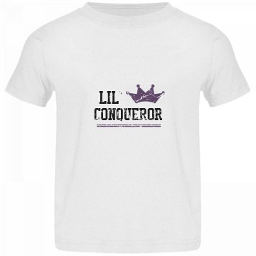 Toddler Lil' Conqueror t-shirt