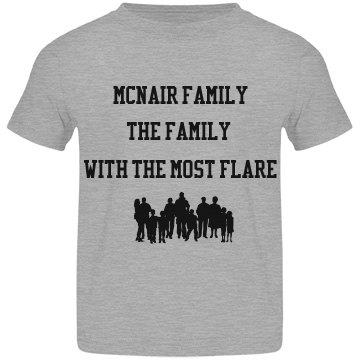 Toddler McNair Family Tees