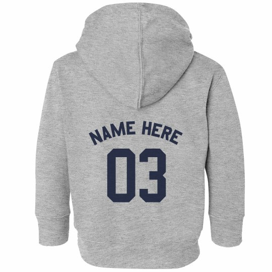 Toddler Name & Age Hoodie