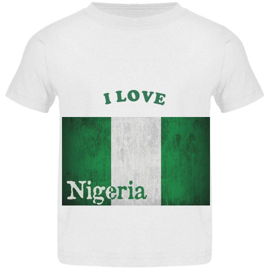 toddler Nigeria tee