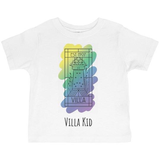 Toddler Villa Kid Twilight Paint Logo Tee