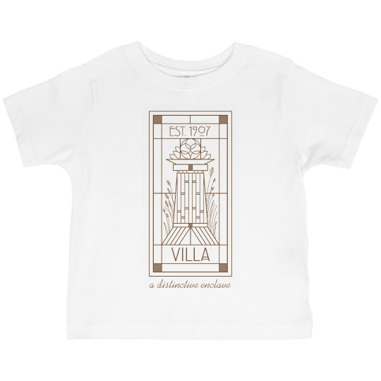 Toddler Villa Line Logo Tee