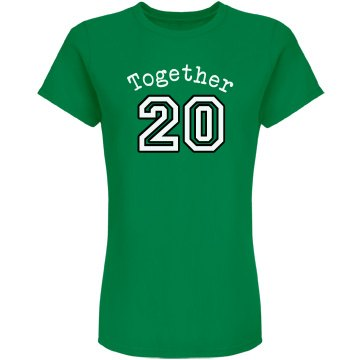 Together Since Green Tee