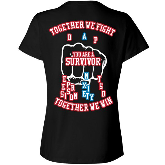 together we fight Anxiety Tee
