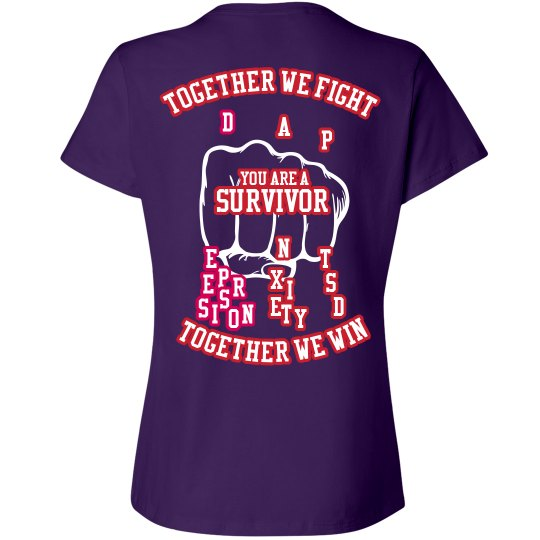 Together we fight women's Tee