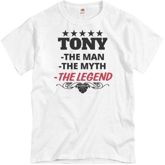 Tony - The Man!