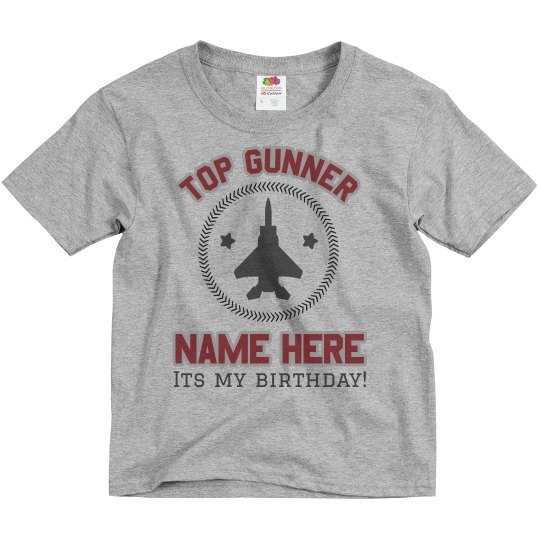 Top Gunner Birthday