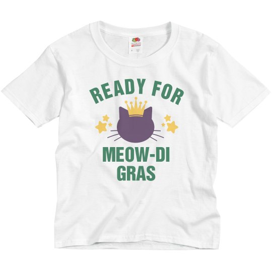 Totally Ready For Meow-di Gras