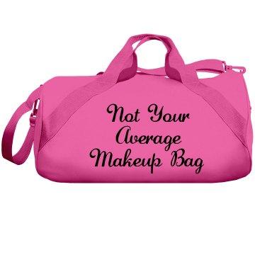 Tote Faux Makeup Bag