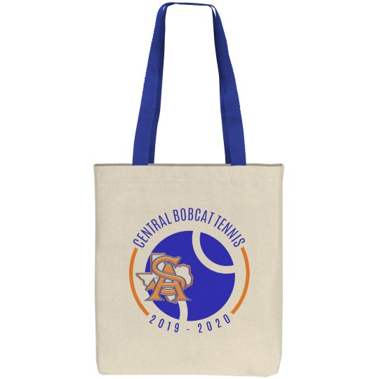 Tote with Blue Strap 1