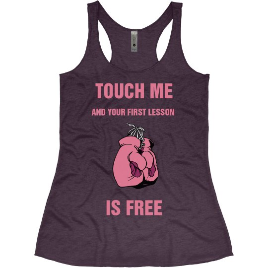 TOUCH ME AND THE FIRST LESSON IS FREE