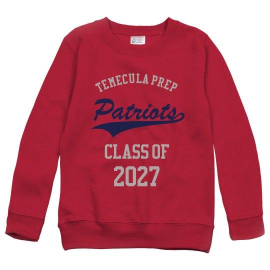 TPS Class of 2027 Sweatshirt Youth