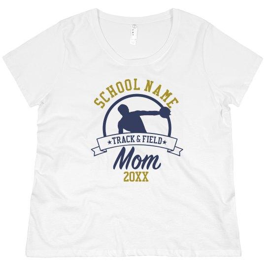 Track Mom Custom School Tee