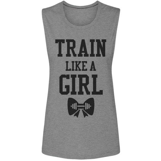 Train Like A Girl Workout Tank