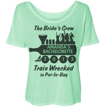 Train Wrecked Bride