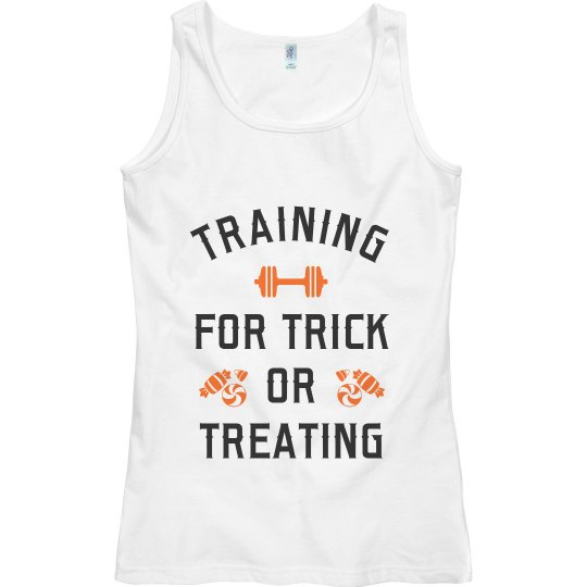 Training Hard For Trick Or Treating