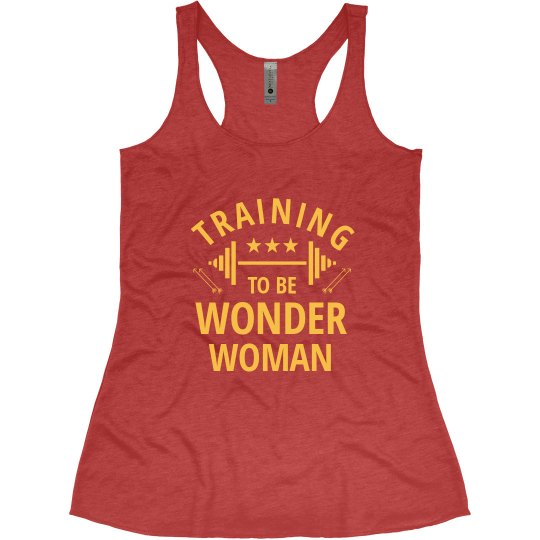 Training To Be Wonder Woman Spoof