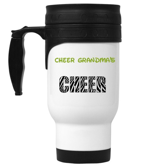 Travel mug Cheer Grandma
