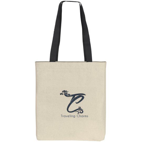 Traveling Charms Tote Bag