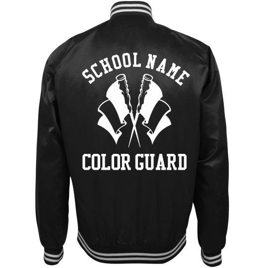 Trending Color Guard School Bomber Jackets
