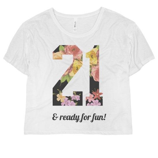 Trendy 21st Birthday
