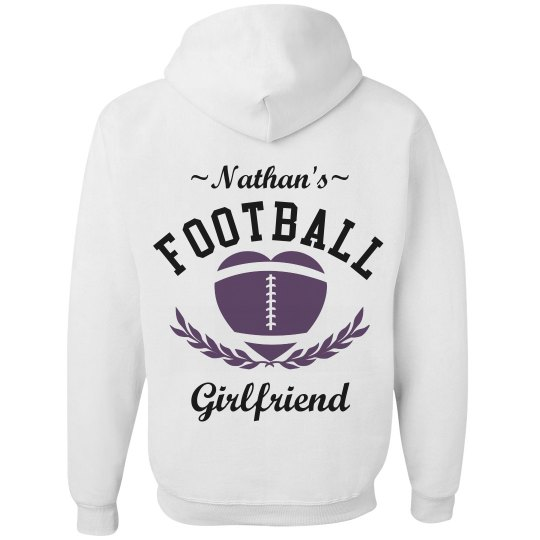 Trendy and Inexpensive Football Girlfriend Design
