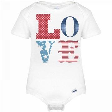Trendy Baby USA Love
