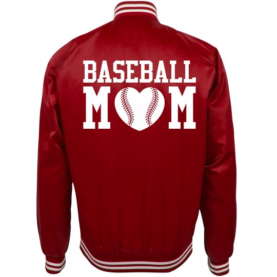 Trendy Baseball Mom Bomber