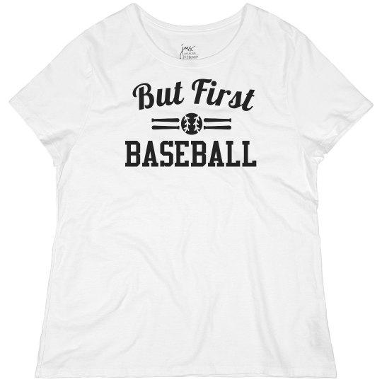 Trendy But First Baseball