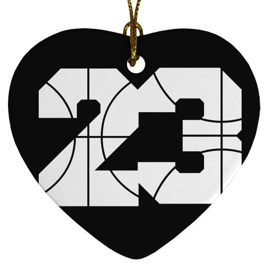 Trendy Customizable Basketball Girl Ornament Gift