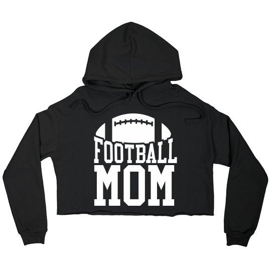 Trendy Football Mom Custom Name