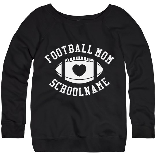 Trendy Football Mom Sweaters You Can Customize!