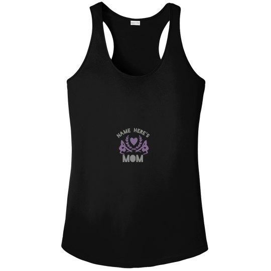 Trendy Gymnastic Mom Tank Top