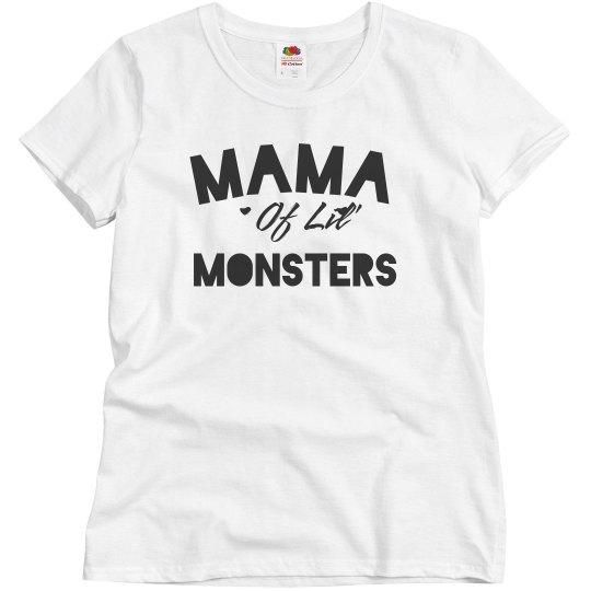 Trendy Mama Of Monsters Halloween