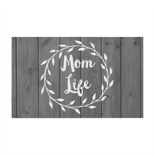 Trendy Rustic Mom Life Design