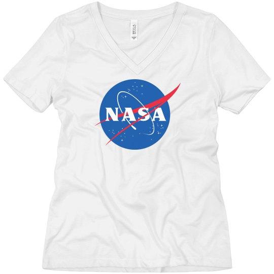 Trendy Simple NASA Logo
