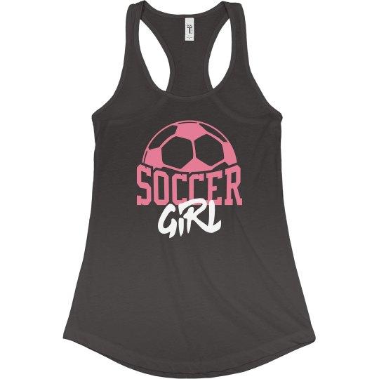 Trendy Soccer Girl